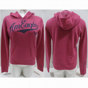 American Eagle hoodie Small pullover slogan logo